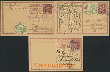 213091 - 1919 CPŘ1 + CPŘ2/I + CPŘ2/II, sestava 3ks rakouských sou