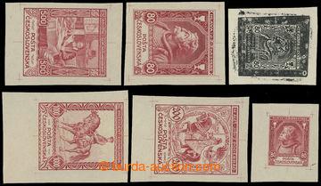 213171 - 1918-1920 sestava 6ks nepřijatých návrhů, 3x Žižka 80h
