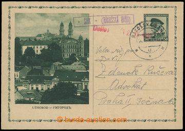 213180 - 1936 SIRK - (RÁKOŠSKÁ BAŇA)  rámečkové fialové razí