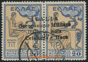 213503 - 1941 CEFALONIA a ITHAKA - italská okupace, provizorní vyd�
