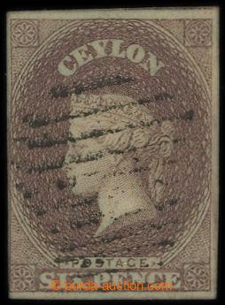 213509 - 1857 SG.1, Viktorie (Perkins Bacon) 6P hnědopurpurová, nam