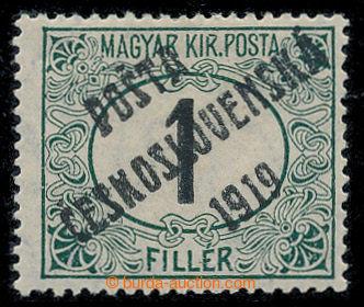 213566 -  Pof.126Pz, Černé číslice 1f zelená / černá, HZ 15, p