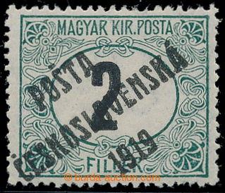 213573 -  Pof.127Pz, Černé číslice 2f zelená / černá, průsvit