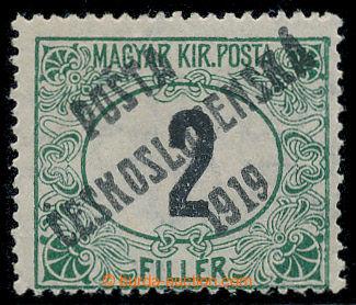 213575 -  Pof.127Pz, Černé číslice 2f zelená / černá, průsvit