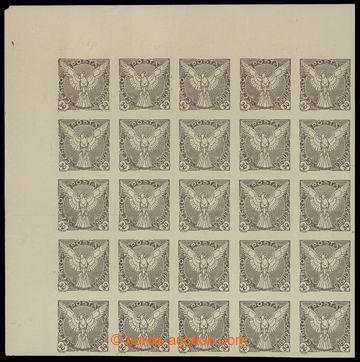 213657 - 1918 Pof.NV6ST, Sokol v letu 30h hnědá, levý horní rohov