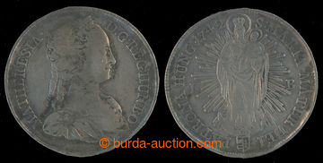 213733 - 1742 MARIE TEREZIE (1740-1780), 1 Tolar, 1742, mincovna Krem