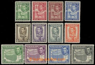 213763 - 1938 SG.93-104 Jiří VI. - Motivy 1/2A-5Rp; bezvadná kvali