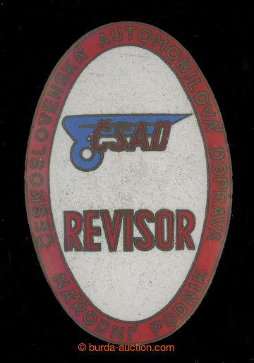 213778 - 1948?-1950? ČSAD / služební odznak REVISOR, Čs. automobi