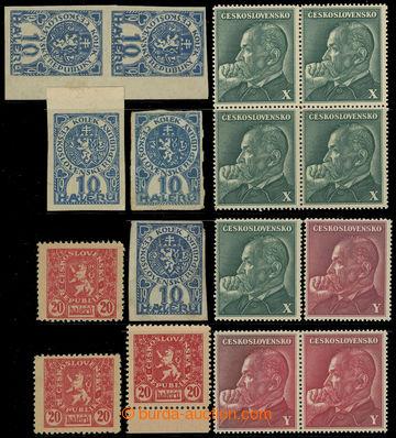 213788 - 1919-1945 ČSR I. / ČSR II. /  SLOVENSKO / sestava 11ks ban