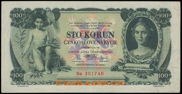 213792 - 1931 Ba.25, 100Kč, série Sa
