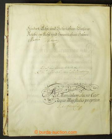 213825 - 1764 MARIE TEREZIE (1717–1780), římská císařovna, česká a uh