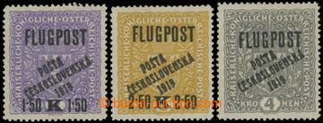 213953 -  Pof.52II-54II, Letecké FLUGPOST, široký formát, kompletní s