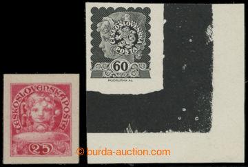 213969 - 1919 MUDRUŇKA Alois / sestava 2ks nepřijatých návrhů,
