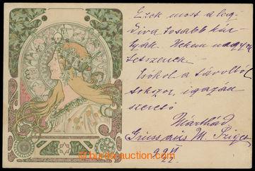214001 - 1899 MUCHA Alfons (1860–1939), Champenois, Série 2 (Weill