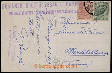 214230 - 1919 POSTA MILITARE 52  s tečkami, pohlednice vyfr. italsk�