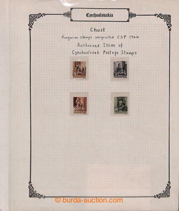 214294 - 1944-1945 [SBÍRKY]  REVOLUČNÍ PŘETISKY  menší sbírka