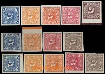 214350 - 1908 NOVINOVÉ ANK.157x,y,z - 160x,y,z; Merkur vpravo 2h-20h