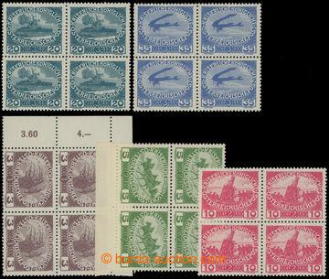 214359 - 1915 VÝPLATNÍ/ VÁLEČNÉ/ ANK.180-184, kompletní série