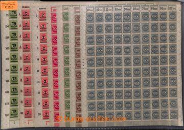 214622 - 1923 ARCHOVINA / Mi.269-271, 273, 286, 309, 312, 214A-316A,