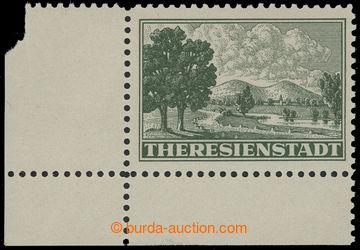 214628 - 1943 Pof.Pr1A, Připouštěcí známka, levý dolní rohový