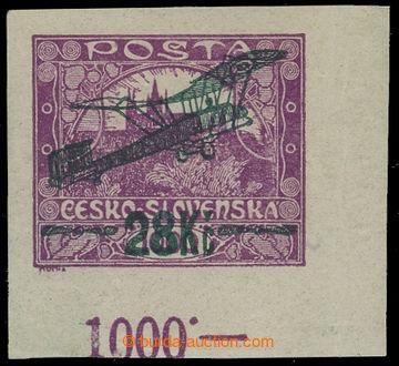 214656 -  Pof.L3, I. letecké provizorium 28Kč/1000h, rohový kus s