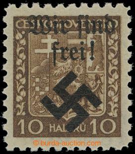214776 - 1939 MÄHRISCH OSTRAU / Mi.2x, WIR SIND FREI na výplatní Znak