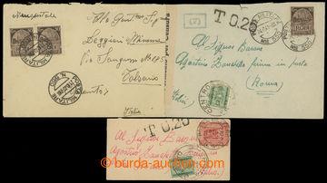214873 - 1940-1941 RHODOS / sestava 3ks dopisů adresovaných do Itá