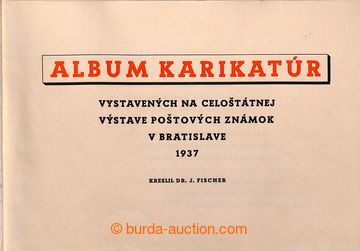 214913 - 1937 ALBUM KARIKATÚR / VÝSTAVA BRATISLAVA 1937  zajímavé dob