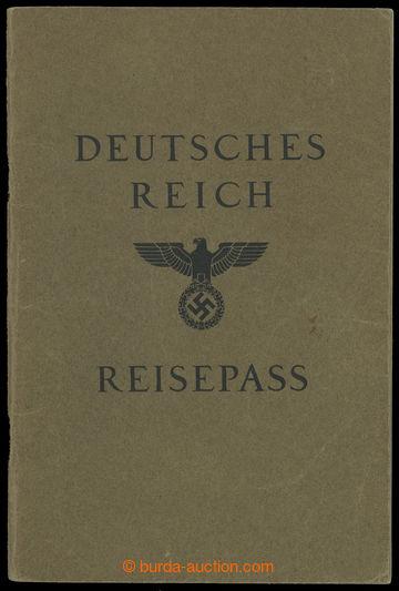 214927 - 1939 CESTOVNÍ PAS / DEUTSCHES REICH / RAKOUSKO  válečný