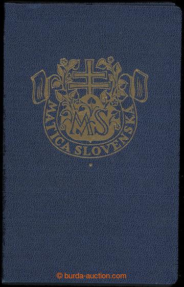 214930 - 1938-1939 MATICA SLOVENSKÁ / legitimace členky Matice sloven