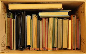 214963 -  ZÁSOBNÍKY / sestava 26ks zásobníků A4, doplněno o 1x zásobn