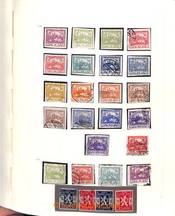 215110 - 1918-1939 [SBÍRKY]  rozpracovaná sbírka razítkovaných i