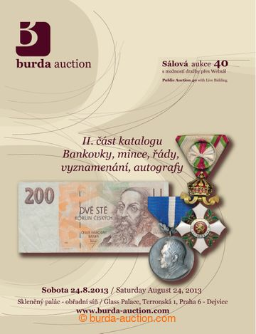 215196 - 2013 BURDA AUCTION s.r.o., catalogue of The Public Auction 4