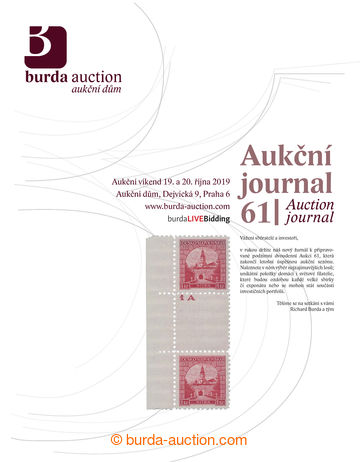 215197 - 2019 BURDA AUCTION s.r.o., Aukční Journal 61, celobarevný