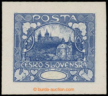 215238 -  ZT  zkusmý tisk v modré barvě, V. kresba, 2. úprava, b�