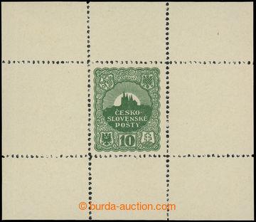215298 - 1918 SCHMIDT Jindra /  nepřijatý návrh známky 10h, v ar�