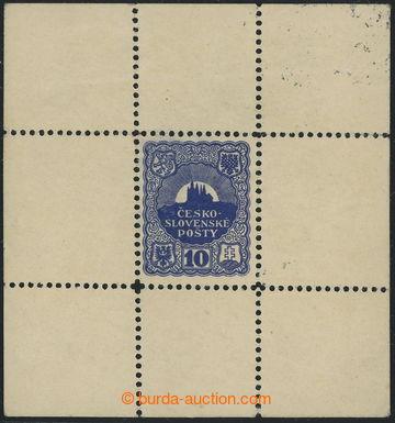 215299 - 1918 SCHMIDT Jindra /  nepřijatý návrh známky 10h v arš