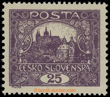 215328 -  Pof.11H IIs, 25h fialová, ŘZ 13¾ : 10¾; svěží, zk. G