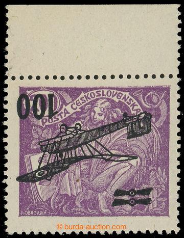 215401 -  Pof.L5 Pp, II. letecké provizorium 100/200h fialová s hor