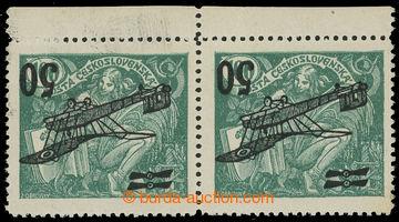 215414 -  Pof.L4 Pp, II. letecké provizorium 50/100h zelená, krajov