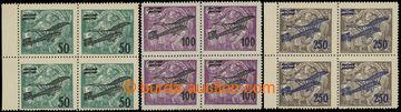 215525 -  Pof.L4-6, II. letecké provizorium, kompletní série ve 4-