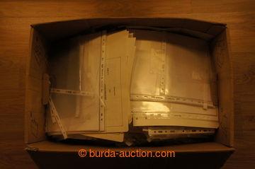 215624 -  OBALY použité obaly na známky, pohlednice, pošetky, kar