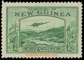 215771 - 1935 SG.205, Těžba zlata £5 smaragdově zelená; bezvadn�
