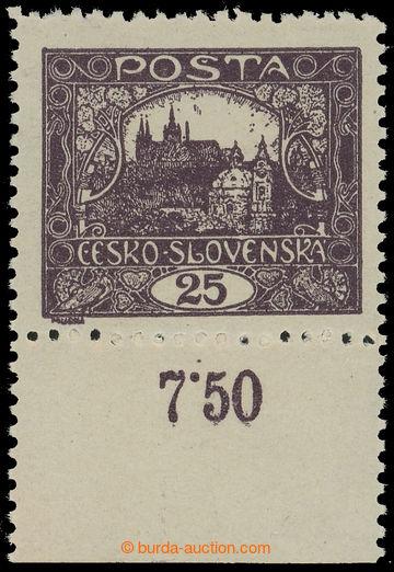215963 -  Pof.11Db, 25h hnědofialová, krajový kus s počítadlem,
