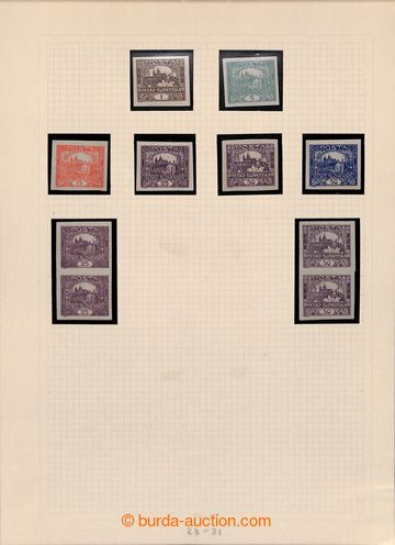 215979 - 1918-1939 [SBÍRKY]  menší generální sbírka na volných