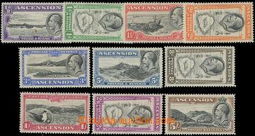 215982 - 1934 SG.21-30, Jiří V. - Motivy ½P - 5Sh, kompletní  sé