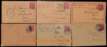 216016 - 1918-1919 CPŘ1, CPŘ5, CPŘ6,  comp. 10 pcs of Austrian PC