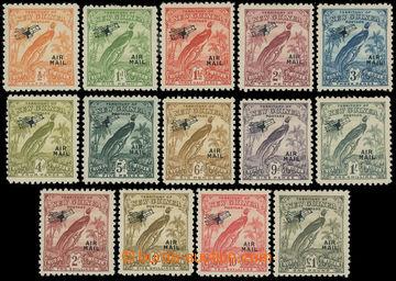 216023 - 1931 SG.163-176, Letecké - Rajka, ½P - £1, kompletní řa