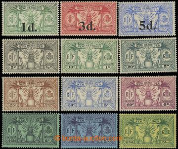 216057 - 1924-1925 sestava 2 kompletních sérií, SG.40-42, s přeti