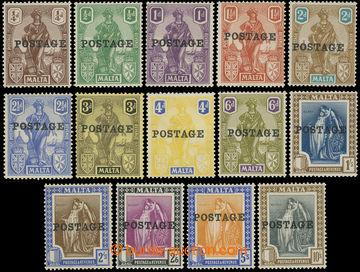 216175 - 1926 SG.143-156, Alegorie ¼P - 10Sh, kompletní série s p�